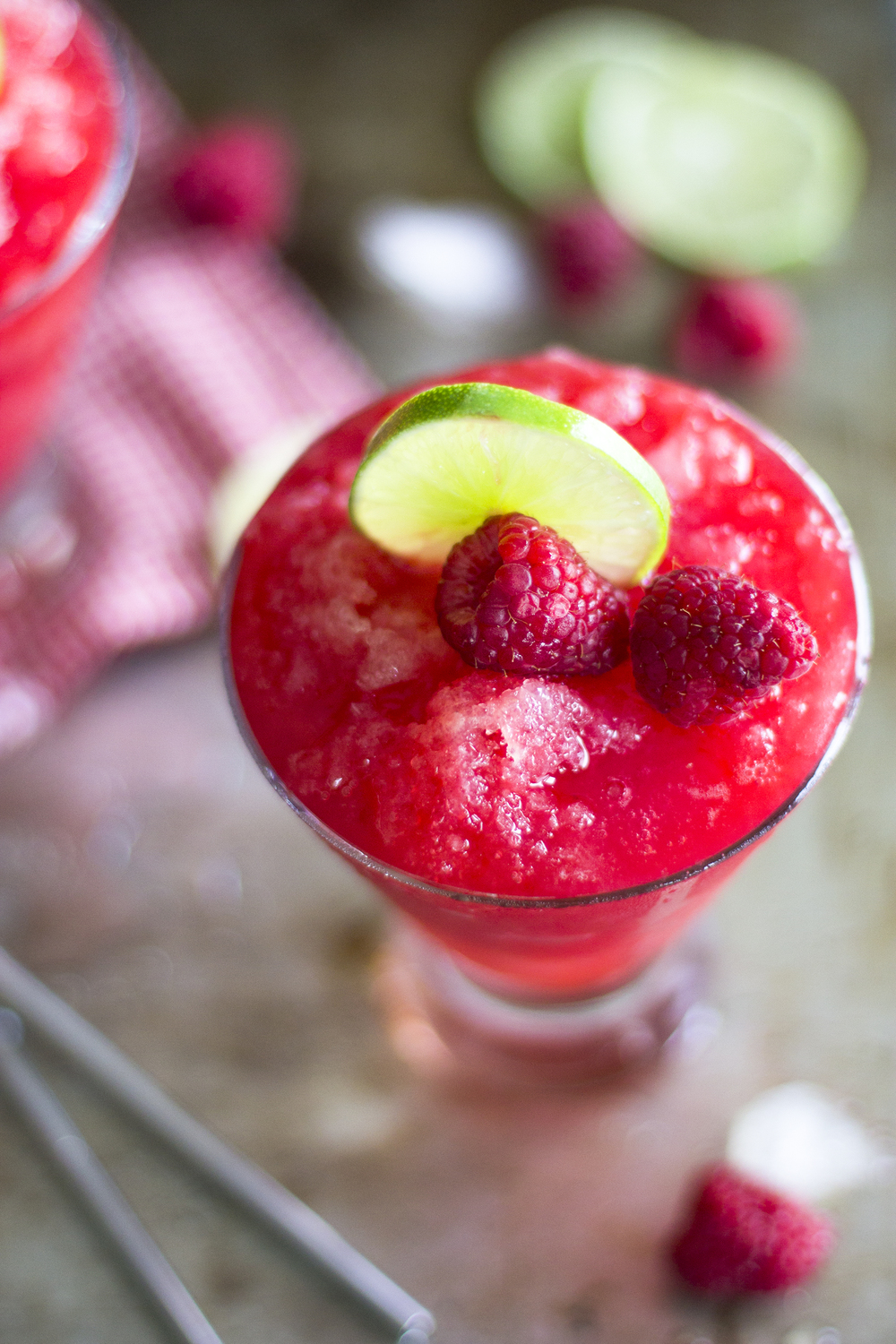 Raspberry and Lime Vodka Sno Cones: My Diary of Us