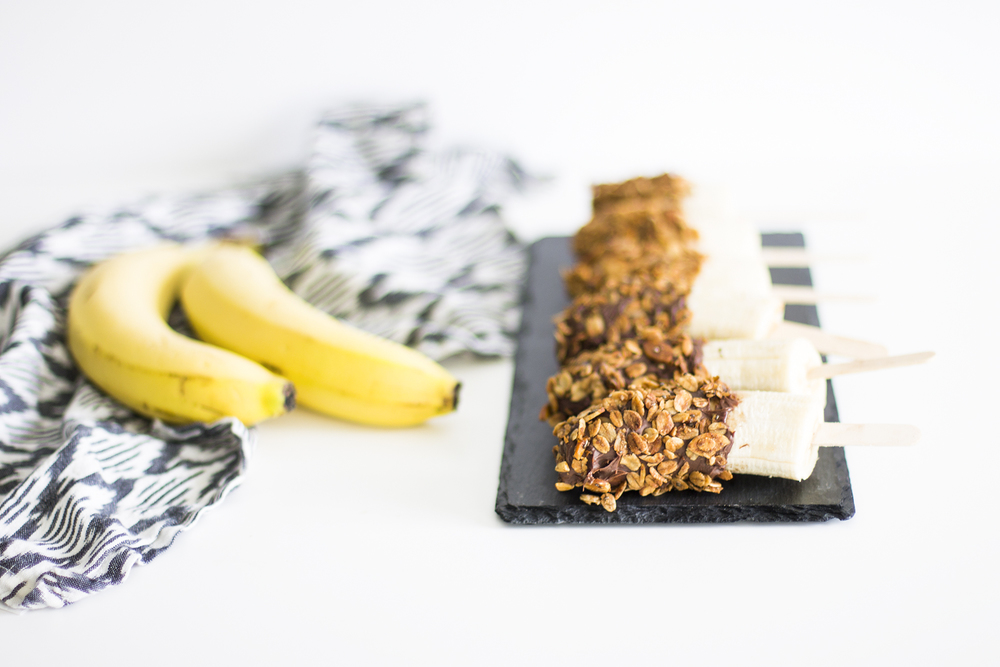 Granola Banana Pops: My Diary of Us
