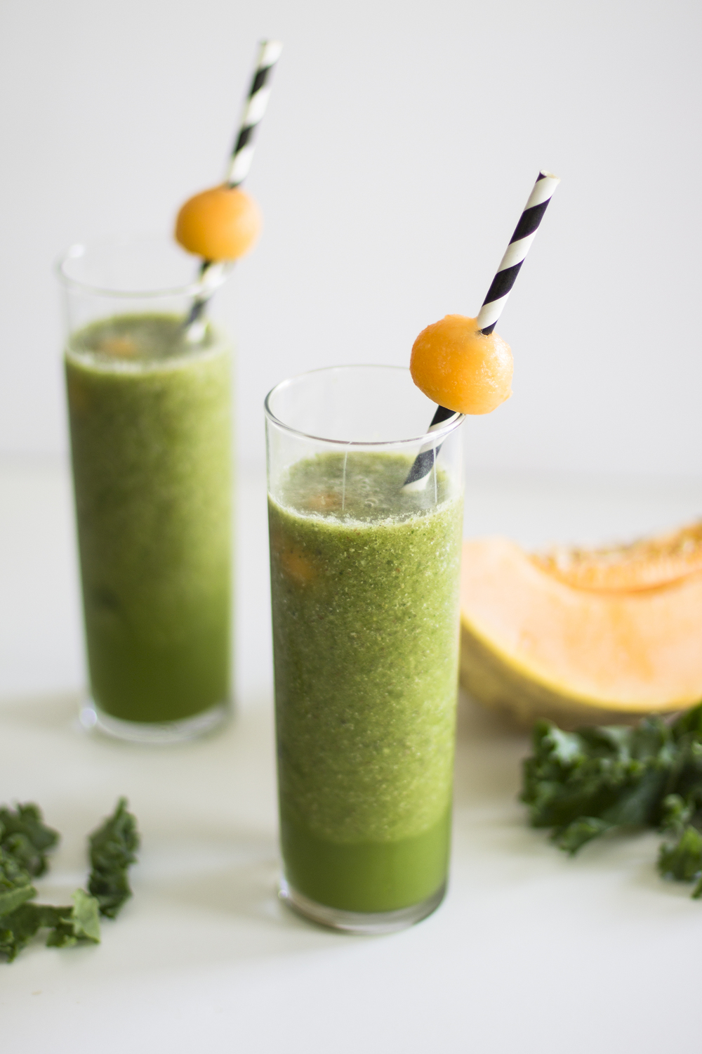 Kale and Cantaloupe Smoothie: My Diary of Us