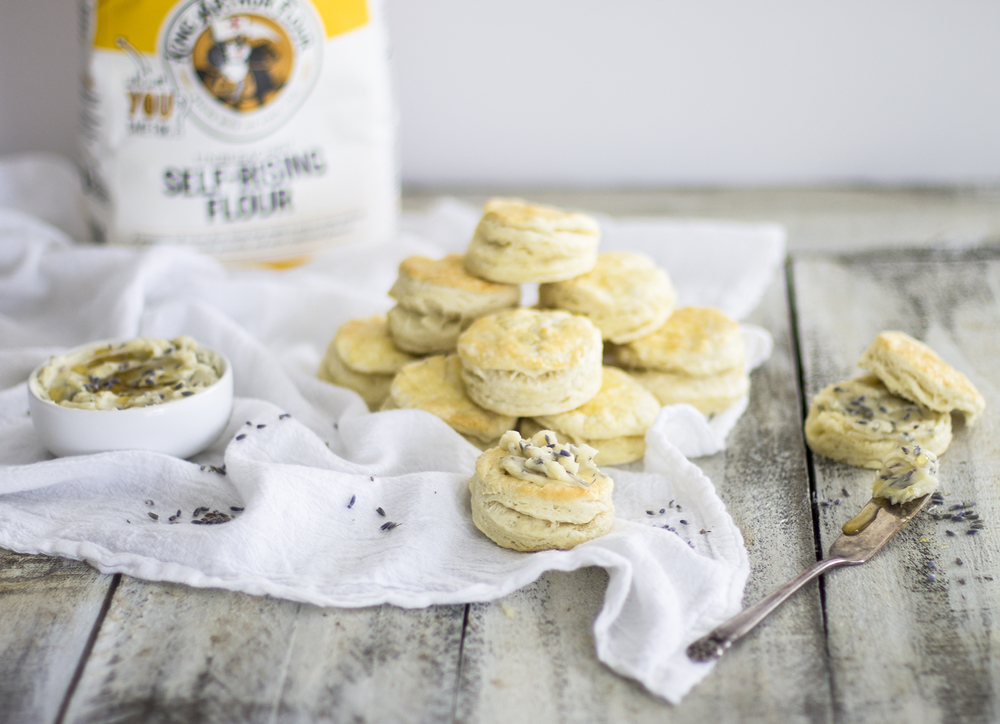 Homemade Flaky Biscuits with Lavender Honey Butter: My Diary of Us