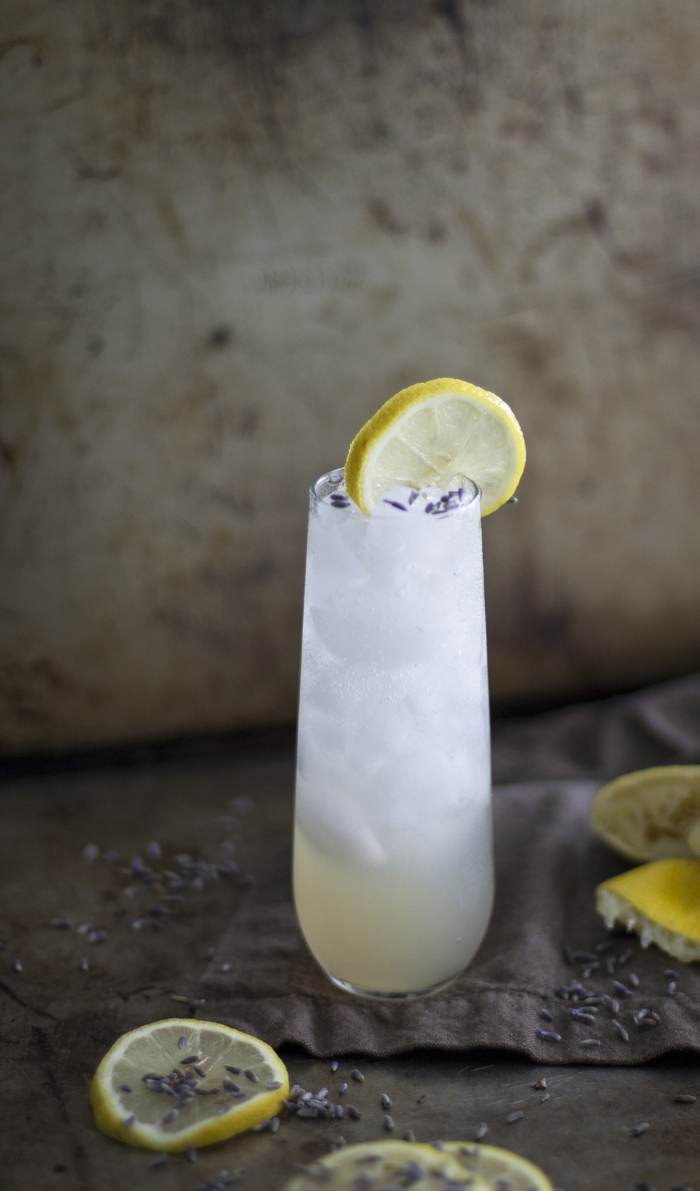 Sparkling Lavender Lemonade: My Diary of Us