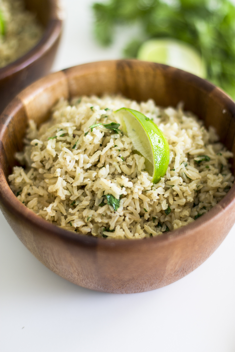 Cilantro and Lime Brown Rice: My Diary of Us