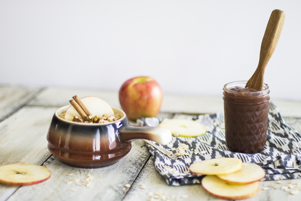 Apple Butter and Apple Butter Breakfast Oats: My Diary of Us