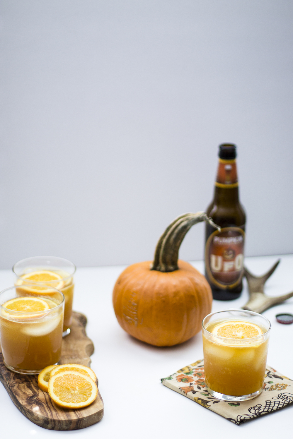 Pumpkin and Orange Beer Shandy: My Diary of Us