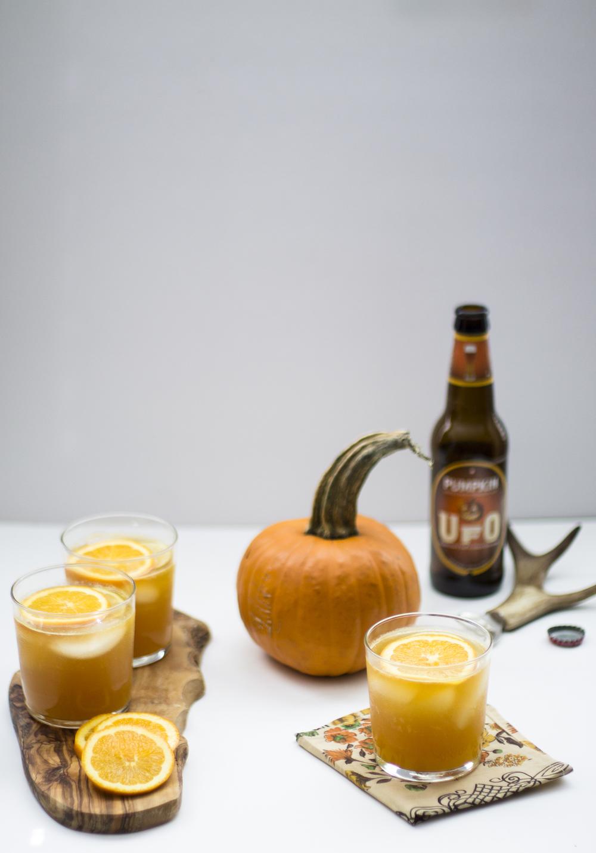 Pumpkin and Orange Beer Shandy: My Diary of Us