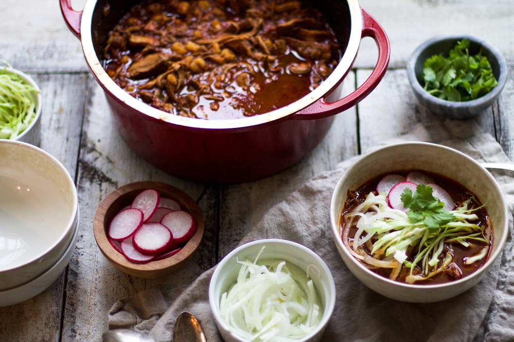 Pork Pozole Rojo: My Diary of us