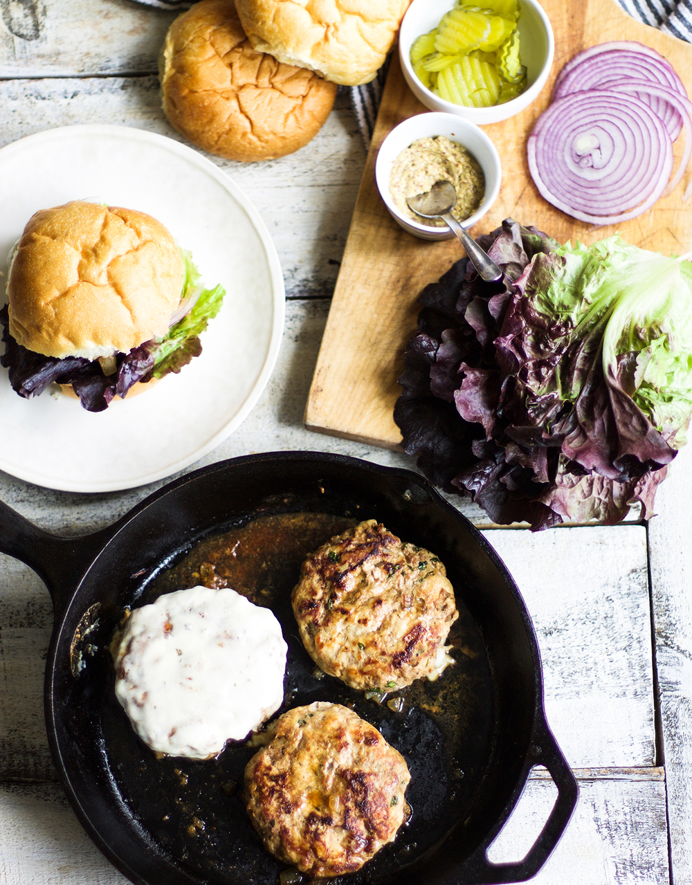 Oven Baked Turkey Burgers: My Diary of Us