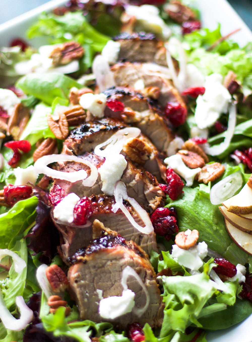 Grilled Pork Tenderloin Salad: My Diary of Us