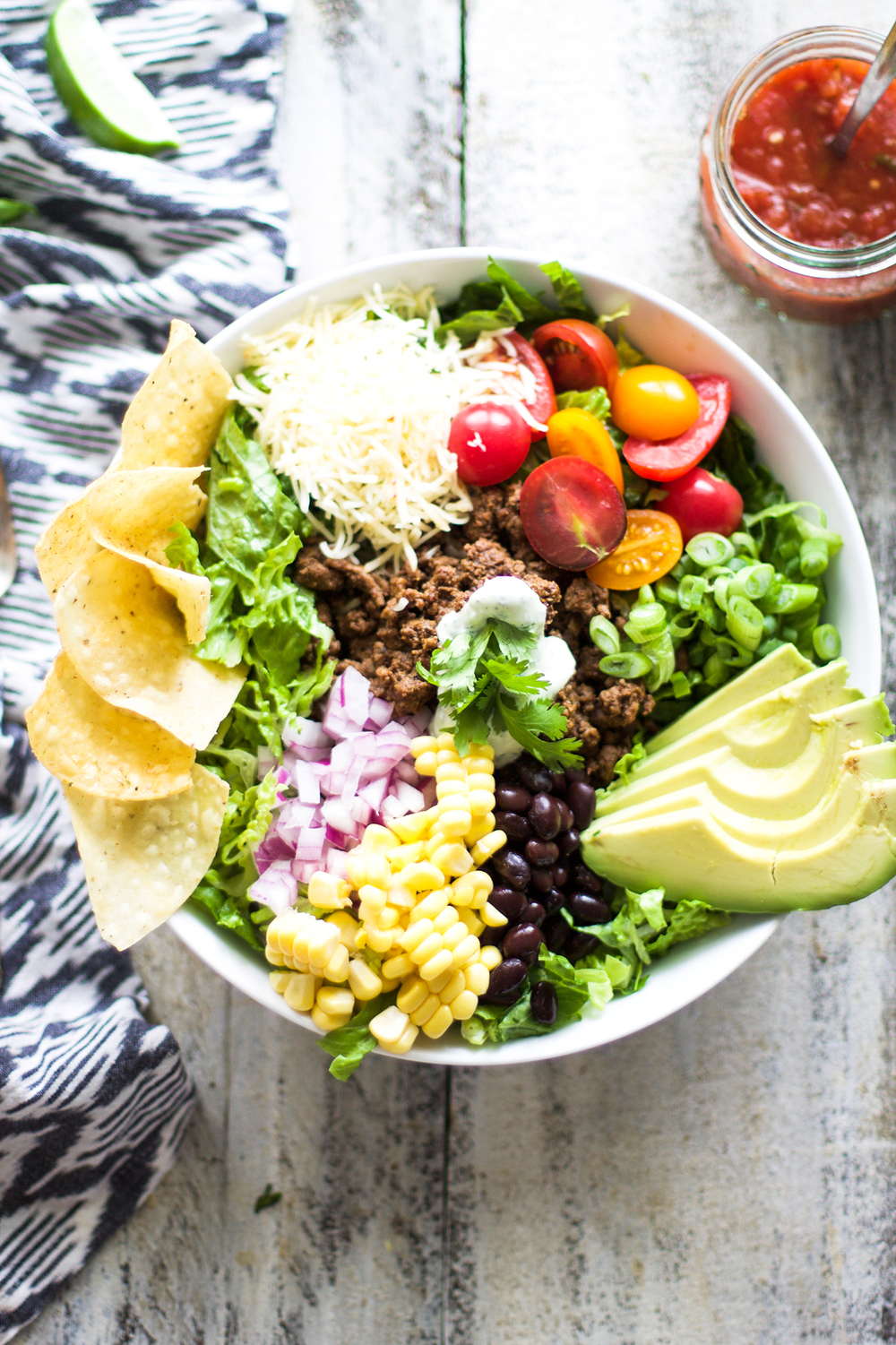 Easy Taco Salad: My Diary of Us