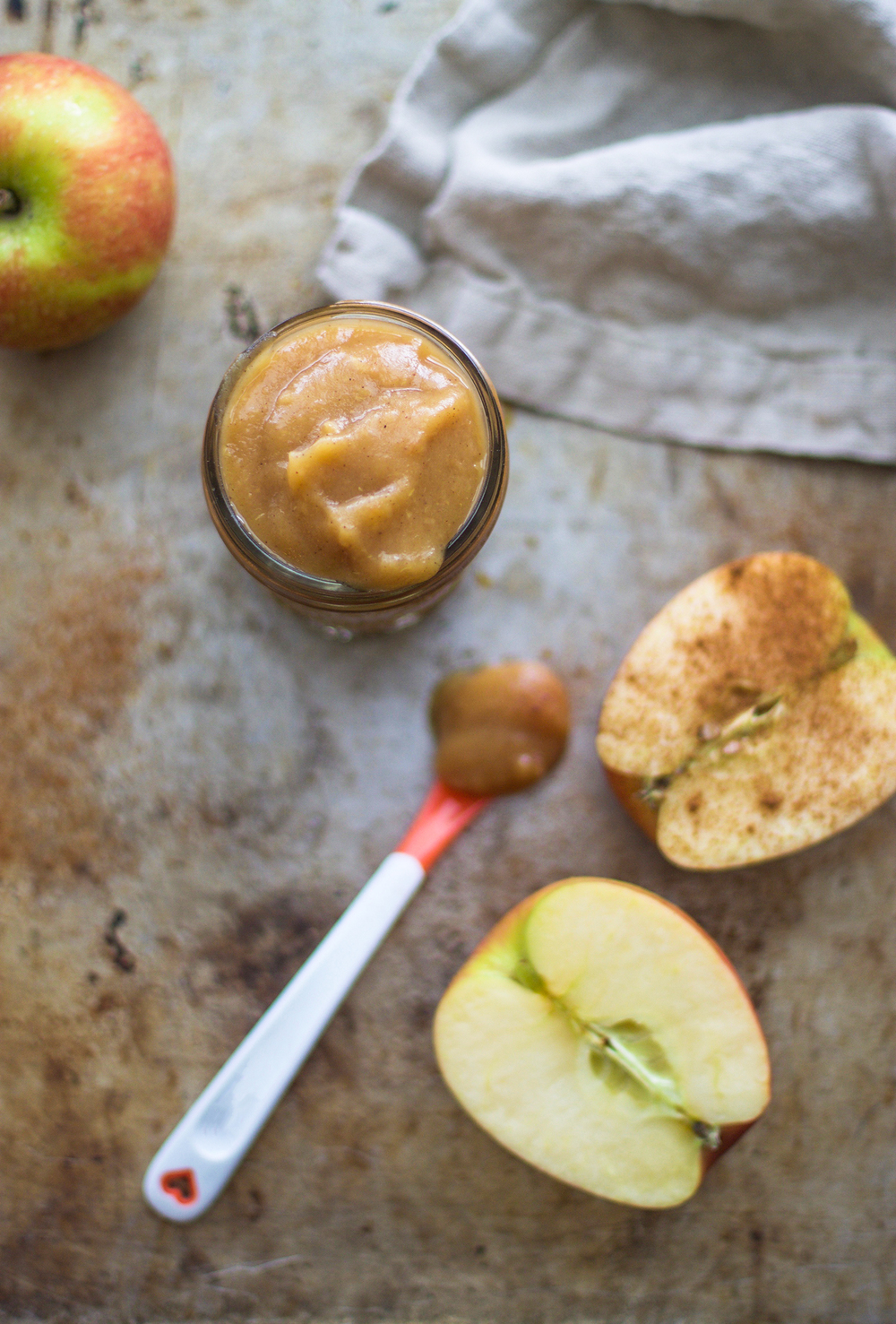 Cinnamon Apples-Baby Food: My Diary of Us