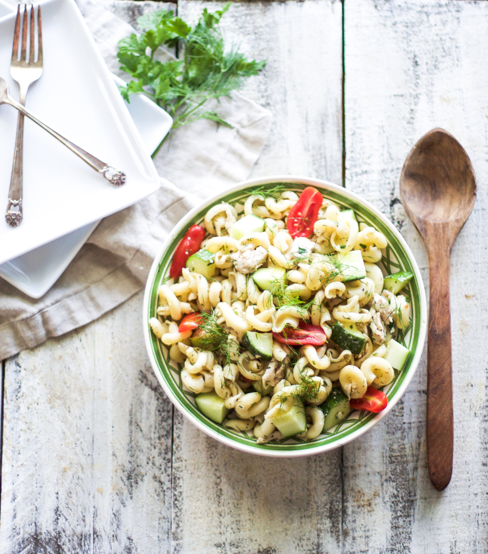 Green Chicken Pasta Salad: My Diary of Us
