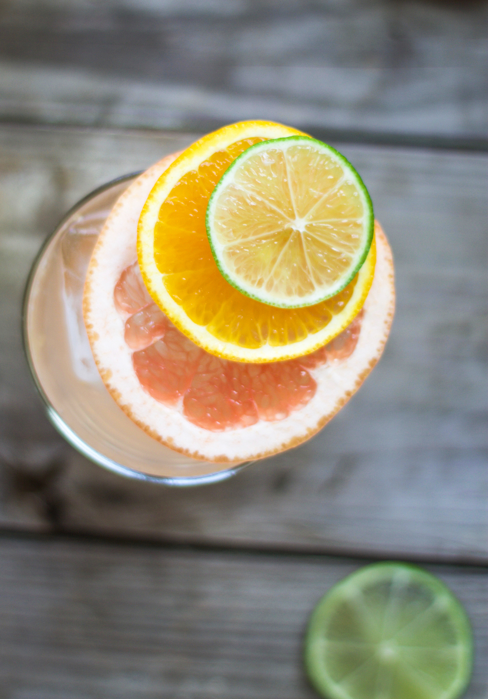 Mom's 5 O'Clock Citrus Vodka Soda