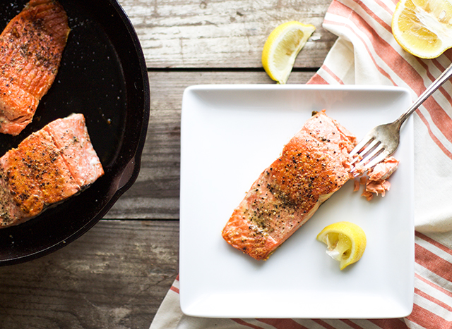 Easy Salmon on the Stove: My Diary of Us
