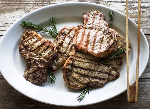 Perfectly Grilled Pork Chops: My Diary of Us