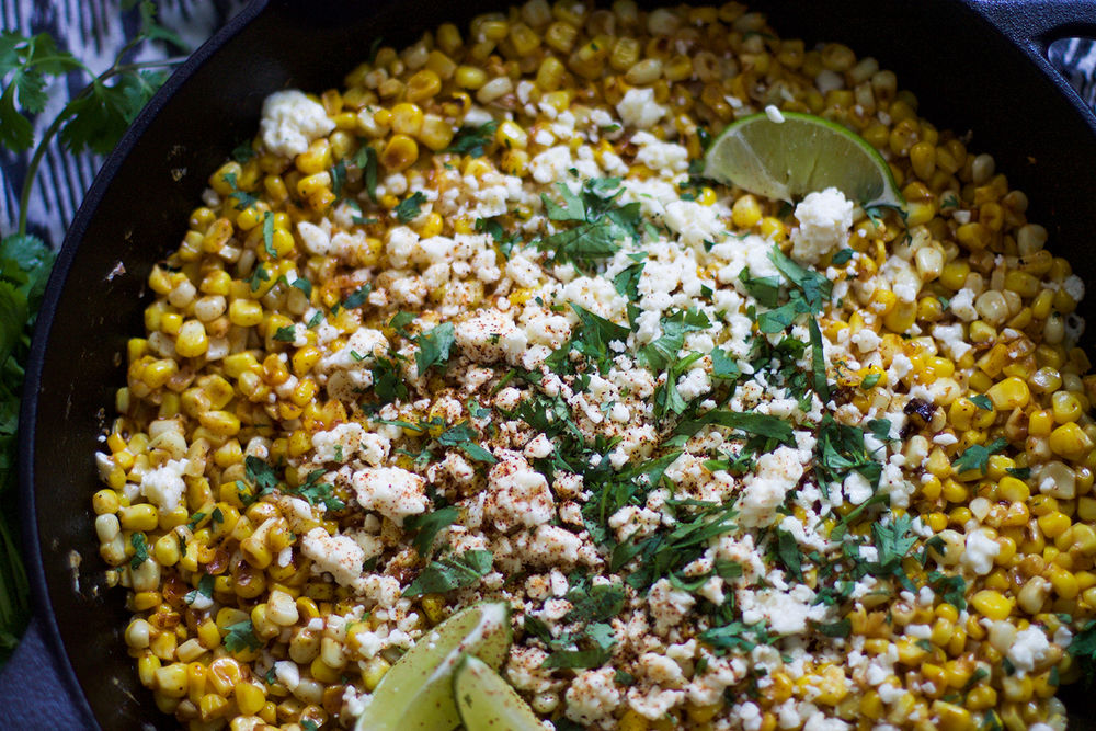 Easy Skillet Mexican Corn on the Cob: My Diary of Us