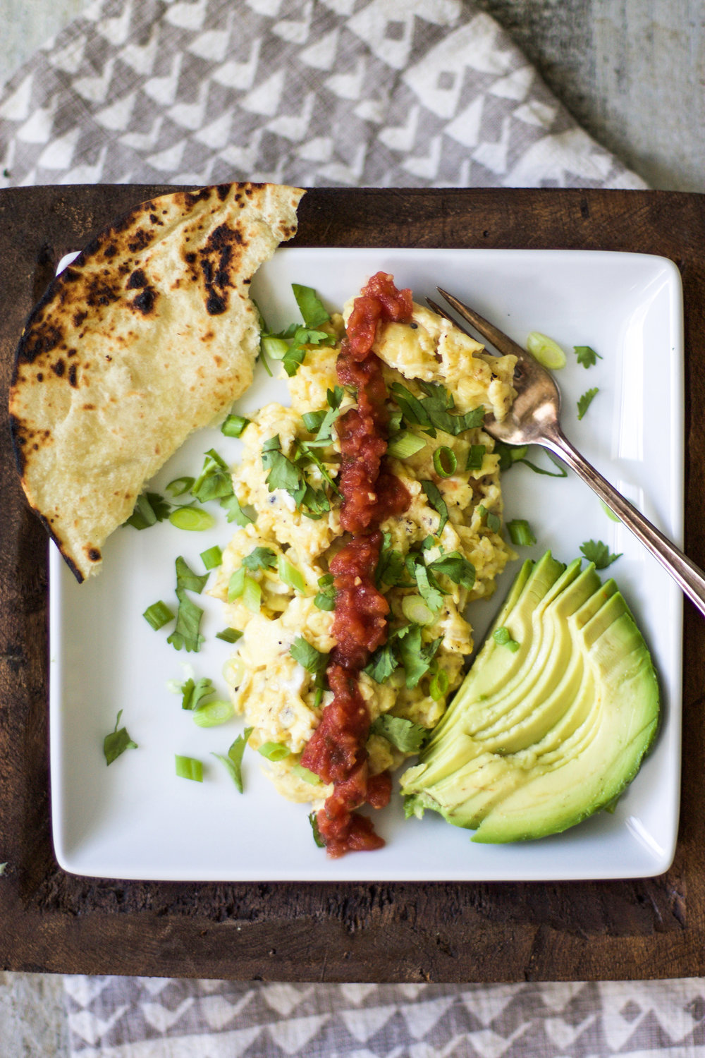 Easy Breakfast Taco Egg Scramble: My Diary of Us