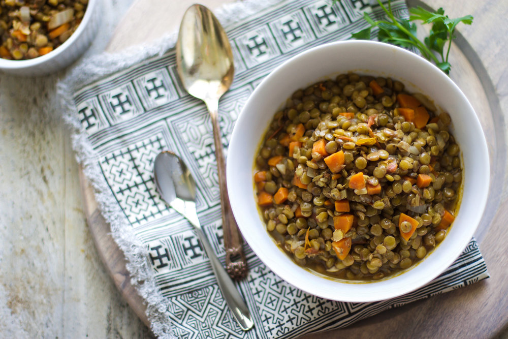 Easy Italian Lentils for Mama and Baby: My Diary of Us