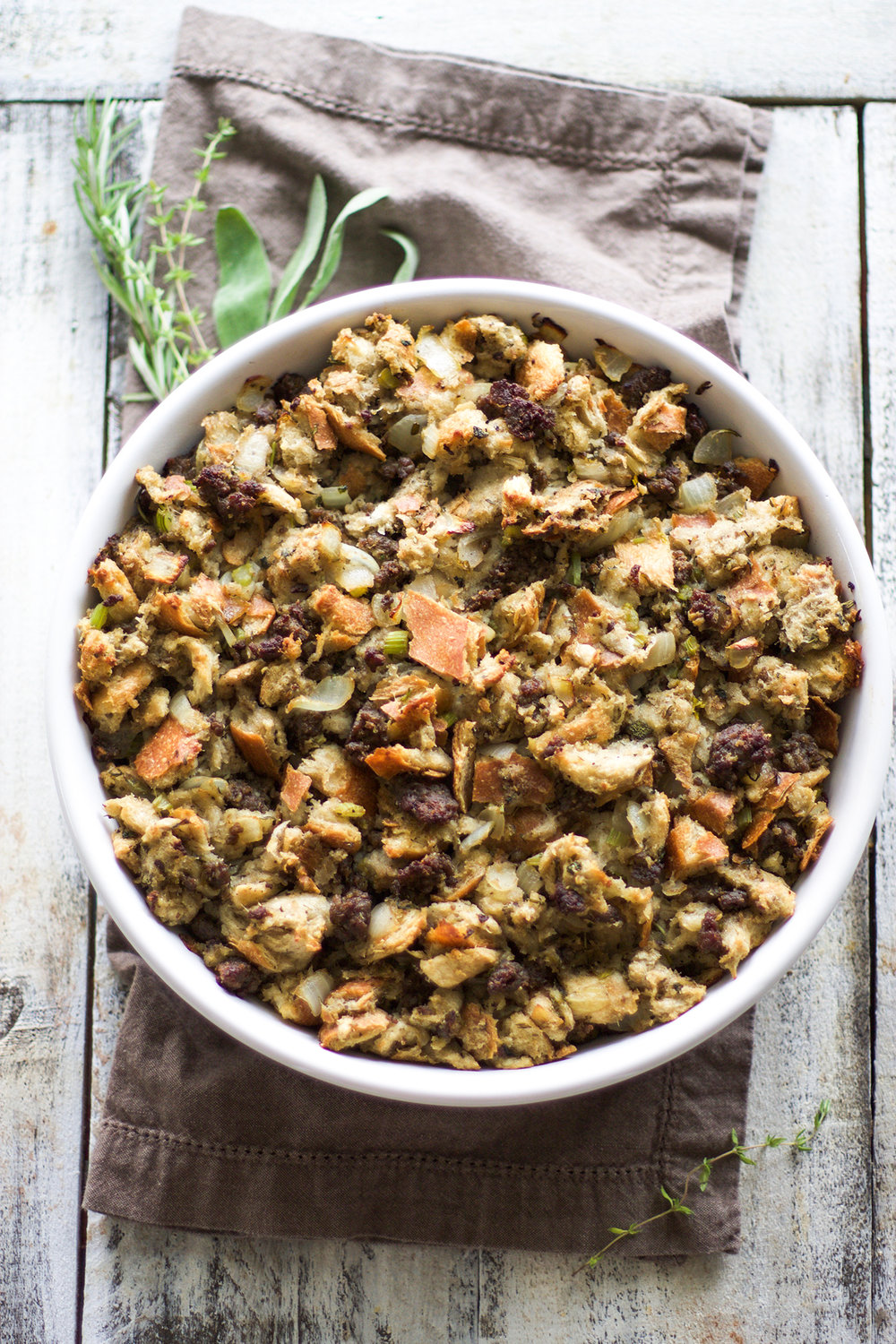 Homemade Sausage Stuffing: My Diary of Us