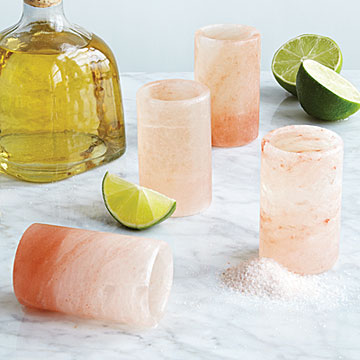 Himalayan Salt Glasses, UncommonGoods: My Diary of Us