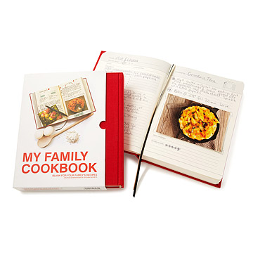 My Family Cookbook at UncommonGoods: My Diary of Us