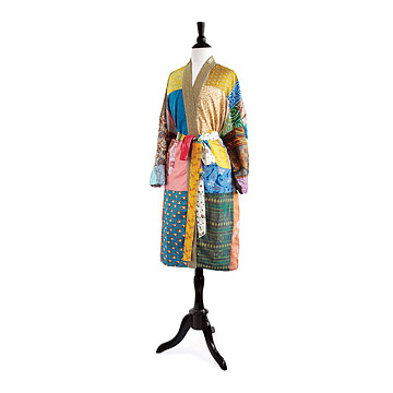 Upcycled Sari Robe at UncommonGoods: My Diary of Us