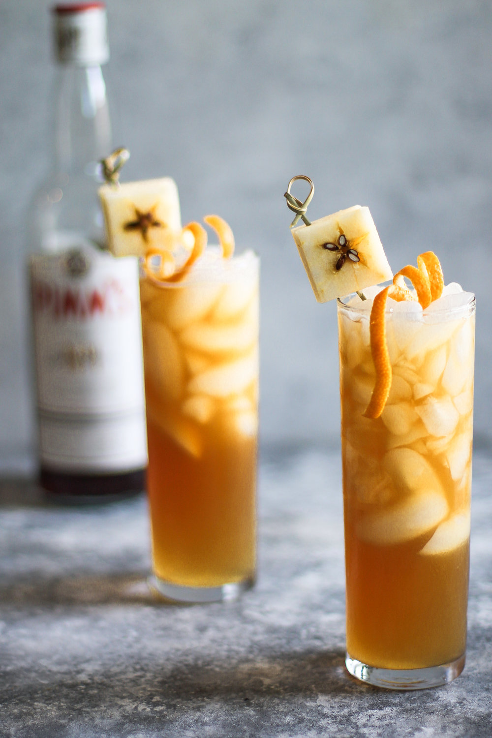 Apple Cider Pimm's Cup: My Diary of Us