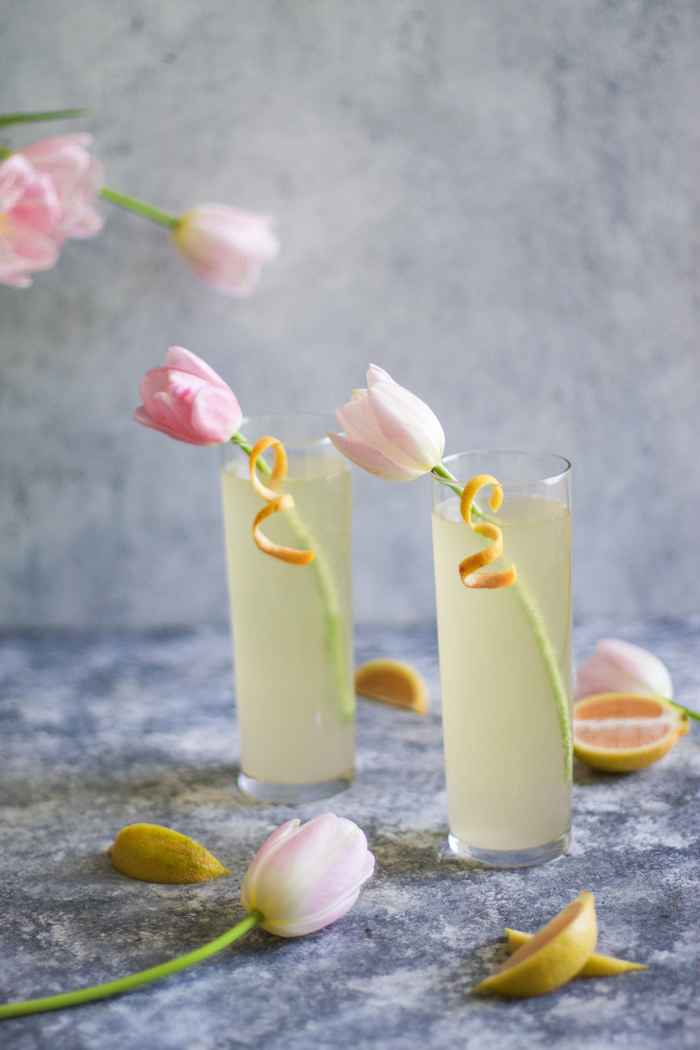 Pink Lemon French 75: My Diary of Us