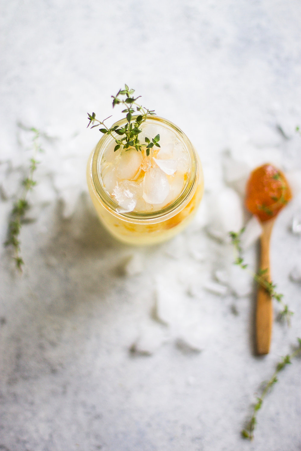 Peach Jam and Gin Thyme Fizz: My Diary of Us