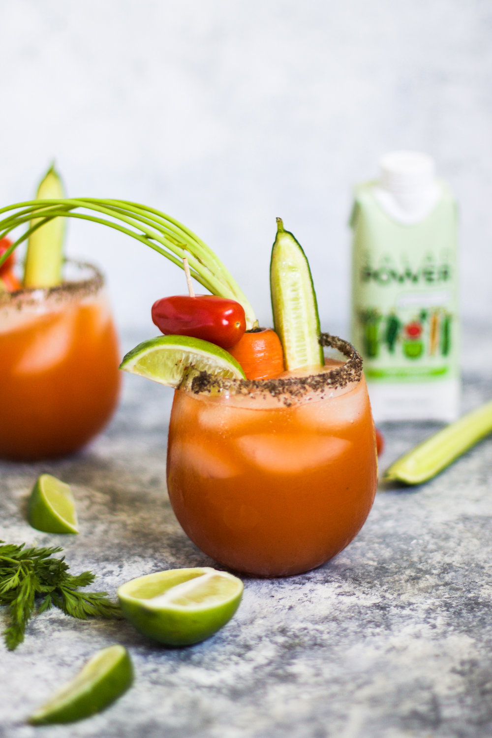 Spicy Sriracha Veggie Micheladas: My Diary of Us