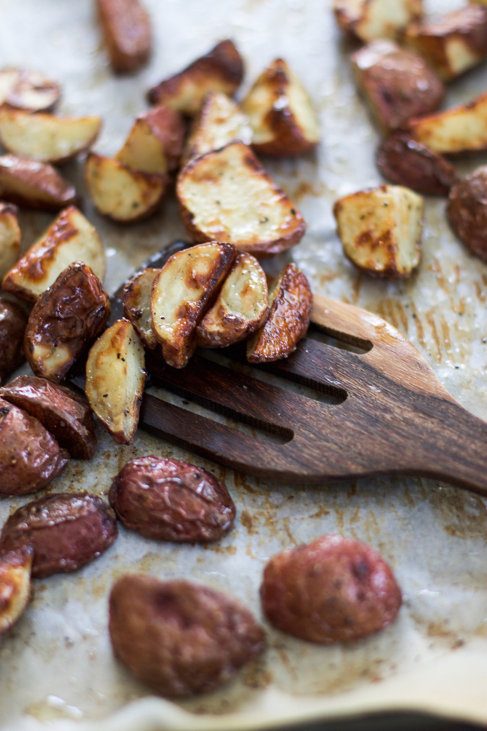 Crispy Roasted Potatoes: My Diary of Us