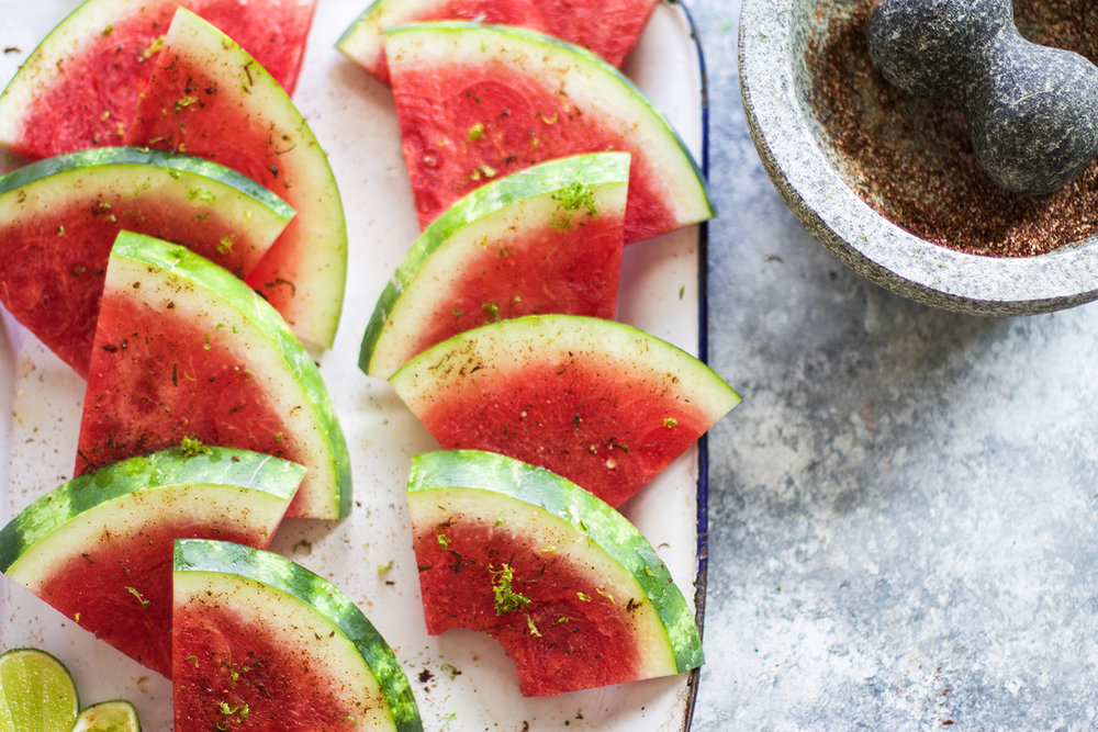 Chili Lime Salted Watermelon: My Diary of Us