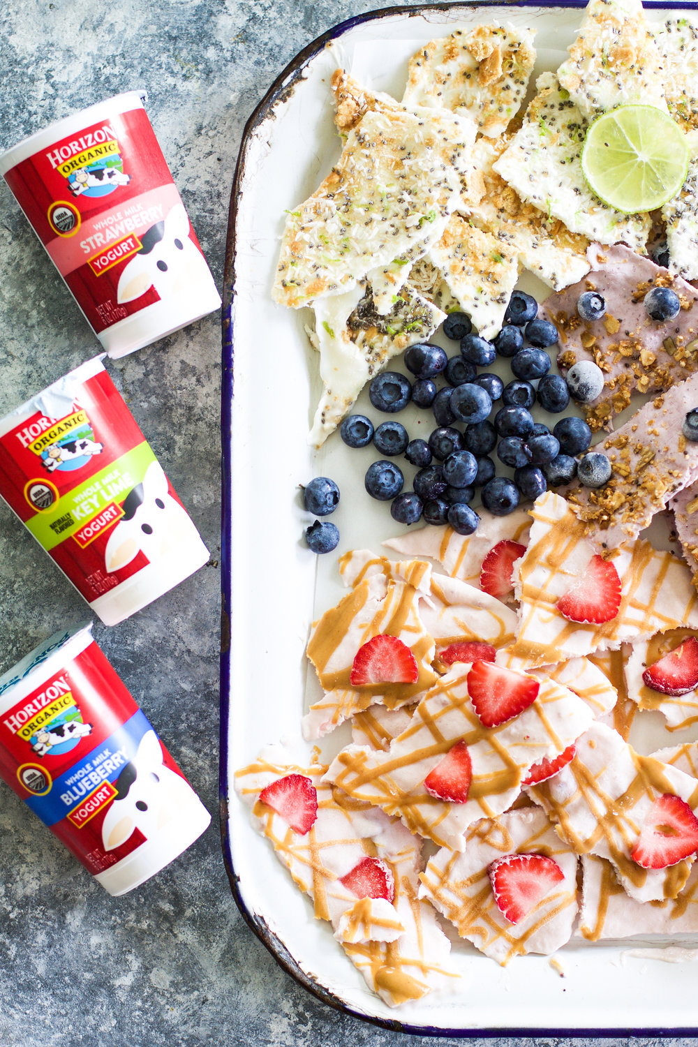 Easy Yogurt Bark (Three Ways):My Diary of Us
