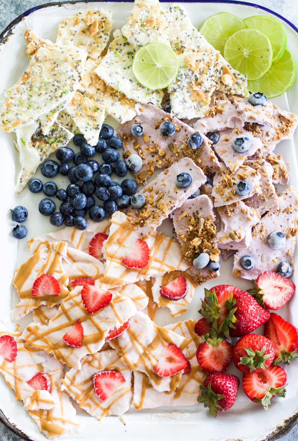 Easy Yogurt Bark (Three Ways): My Diary of Us
