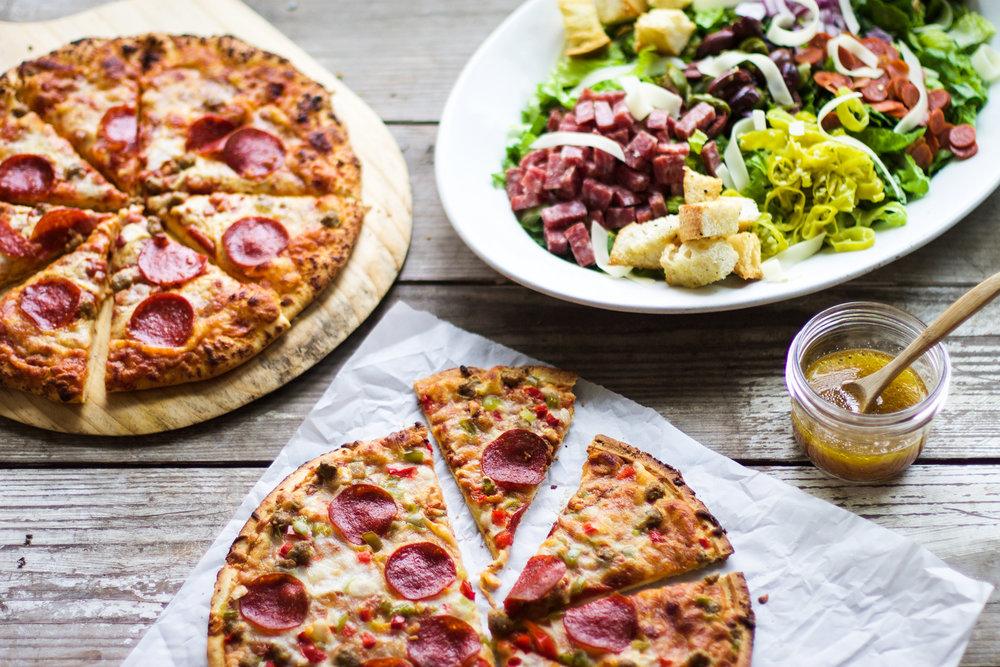 The Ultimate Italian Sub Salad: My Diary of Us