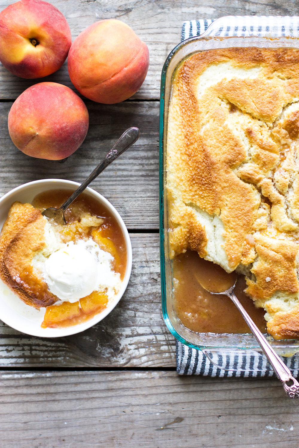 Easy Homemade Peach Cobbler: My Diary of Us