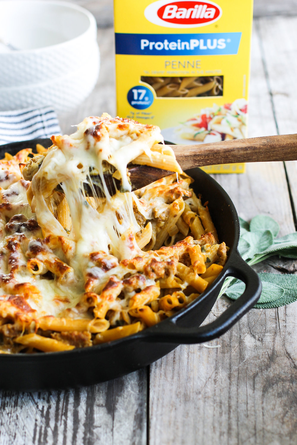 Easy Pumpkin and Sausage Baked Ziti: My Diary of Us