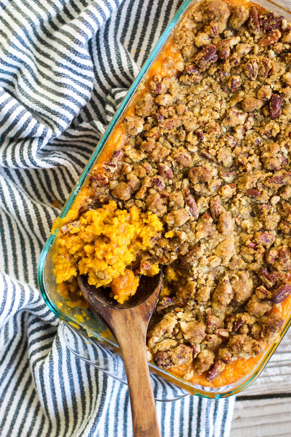 Mom-Mom's Sweet Potato Casserole: My Diary of Us