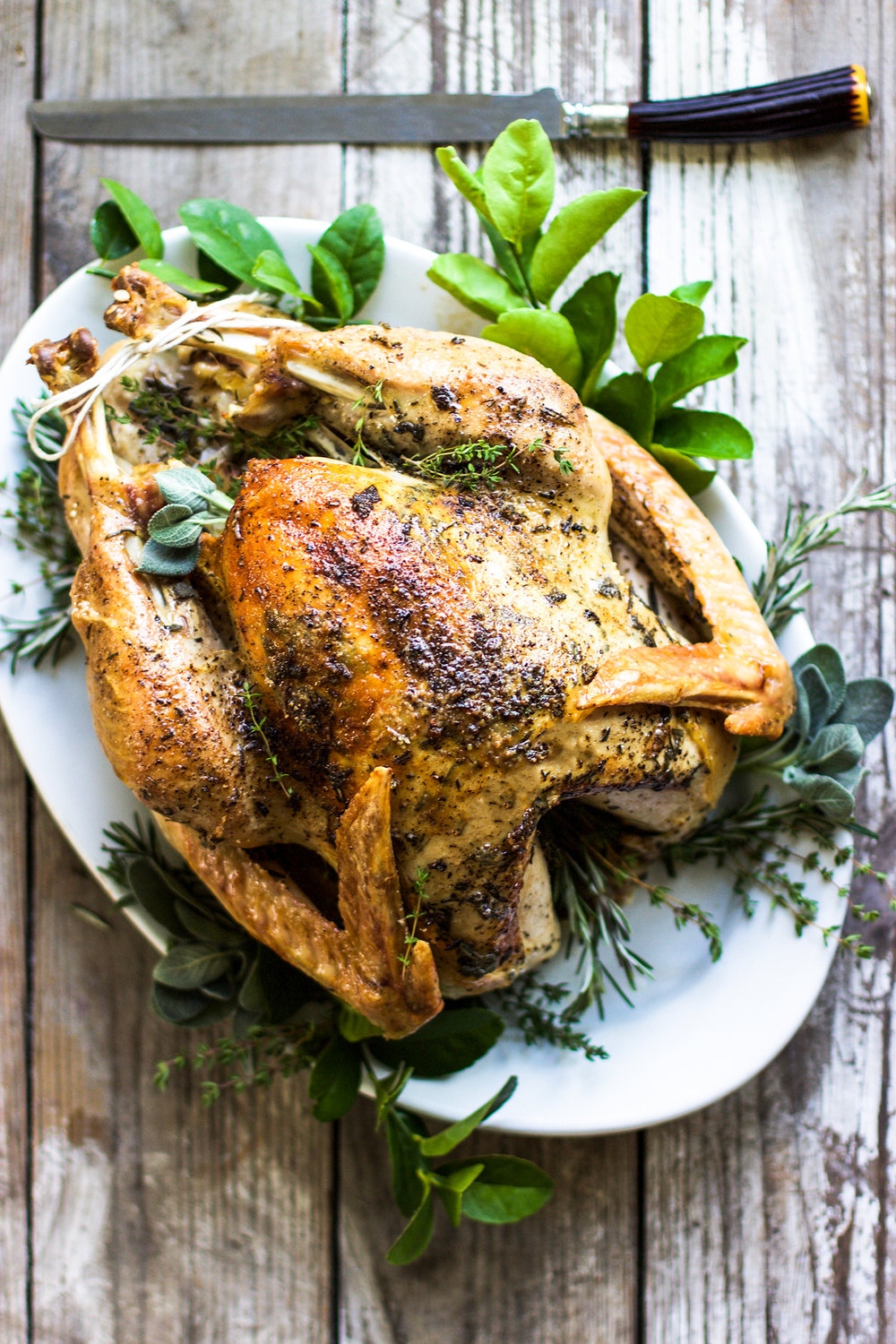 Dry Brined Brown Butter and Sage Roasted Turkey: My Diary of Us