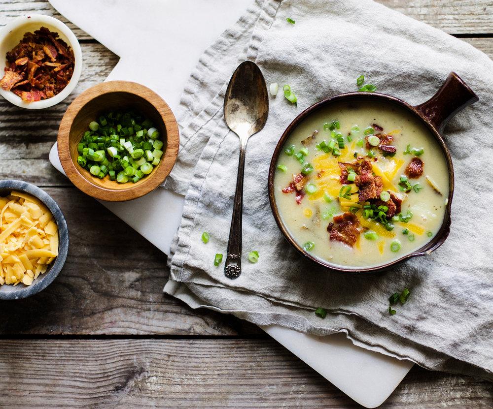 Easy Homemade Potato Soup: My Diary of Us