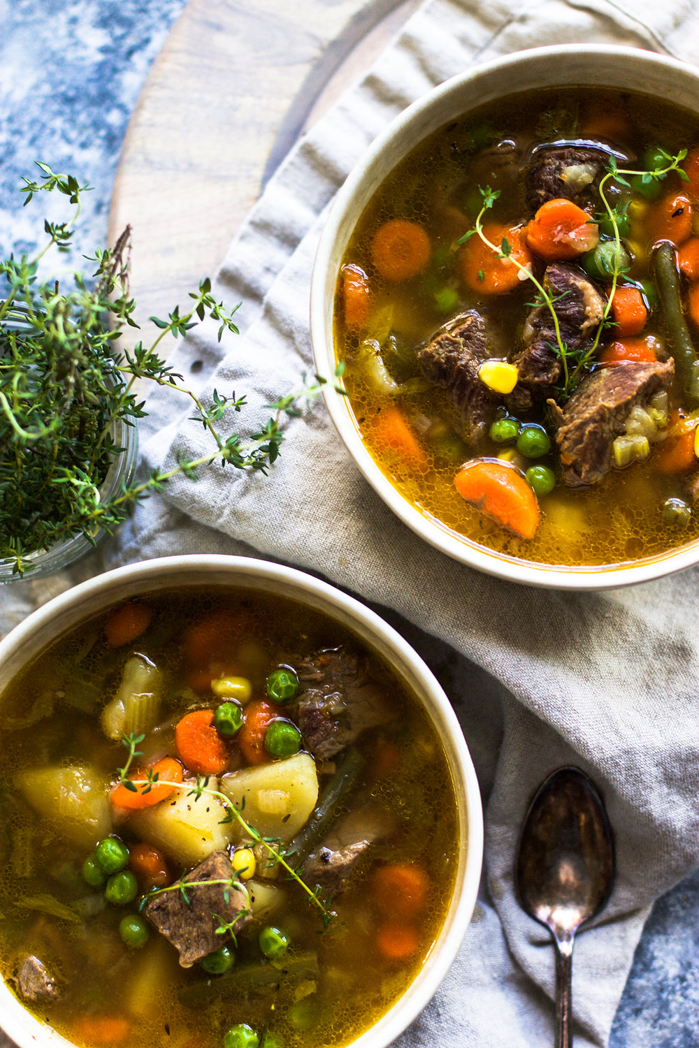 Homemade Beef and Vegetable Soup: My Diary of Us