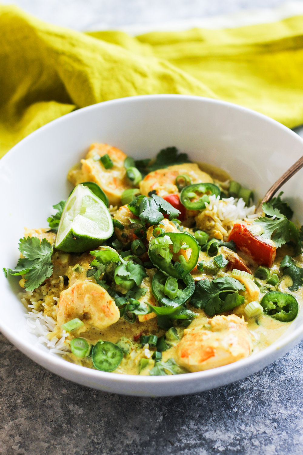 30-Minute Shrimp Curry: My Diary of Us