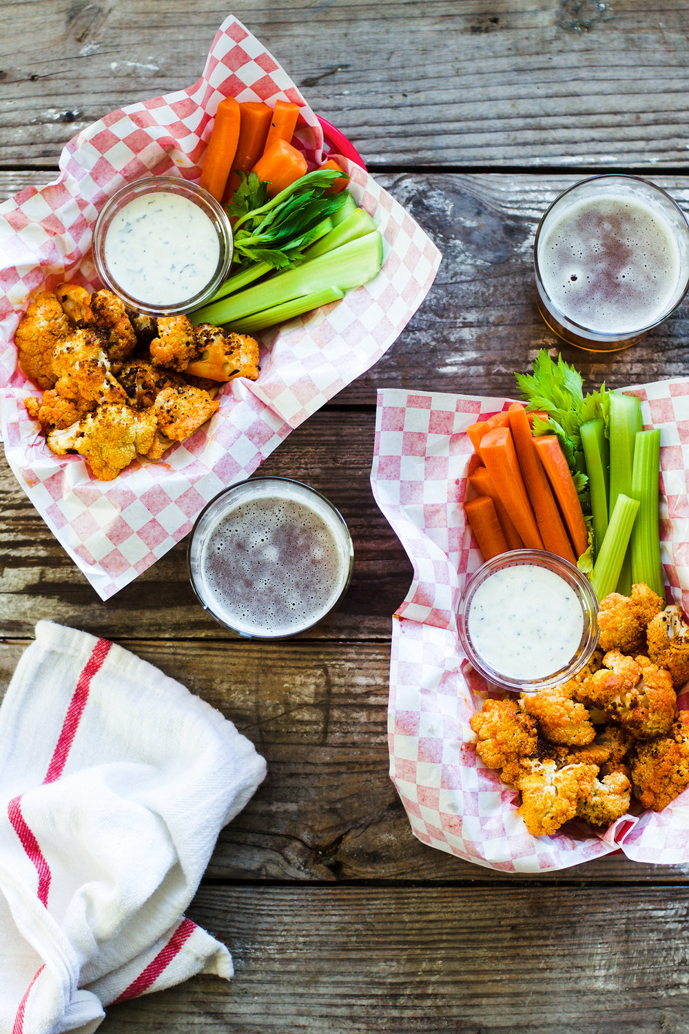 Easy 5-Ingredient Buffalo Cauliflower: My Diary of Us