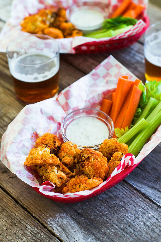 Easy 5-Ingredient Buffalo Cauliflower: My Diary of Us
