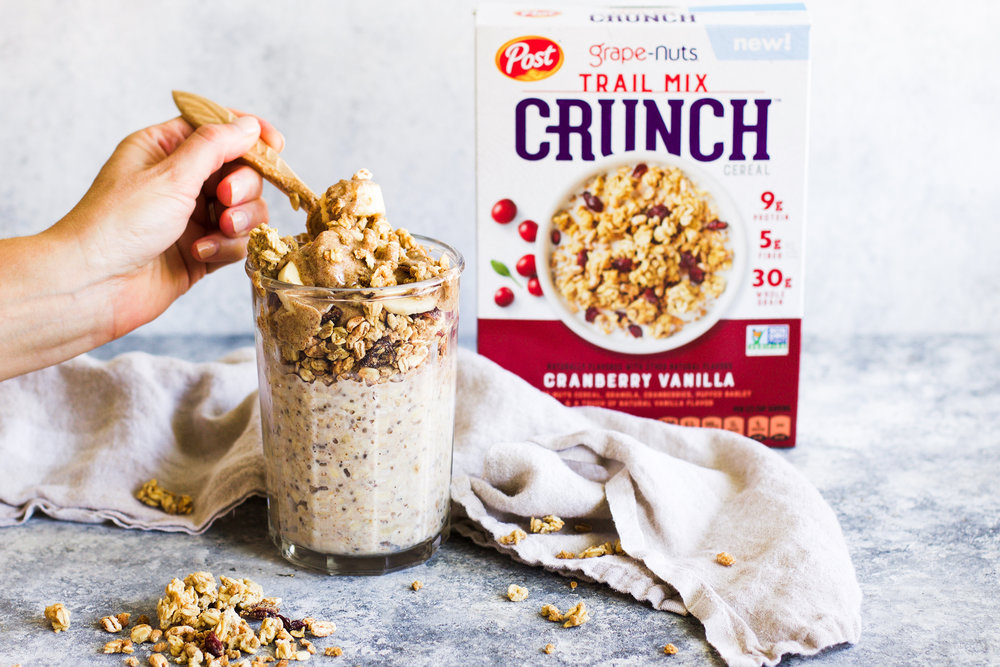 Trail Mix Overnight Oats: My Diary of Us