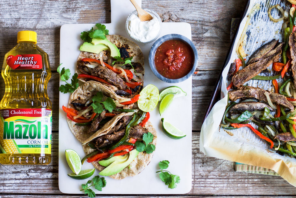 Simple Sheet Pan Beef Fajitas: My Diary of Us