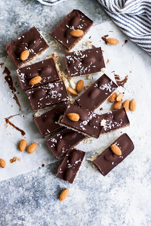 5 Ingredient Healthier Almond Joys: My Diary of Us