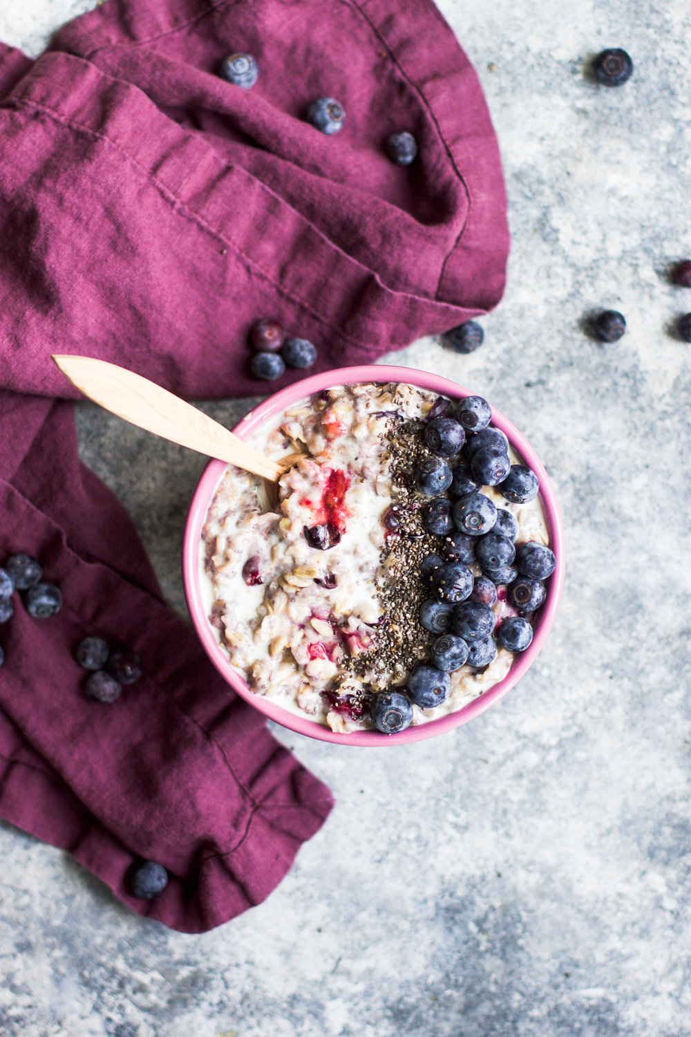 Blueberry Vanilla Oatmeal: My Diary of Us