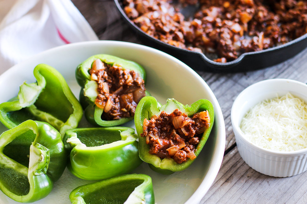 Sloppy Joe Stuffed Peppers: My Diary of Us