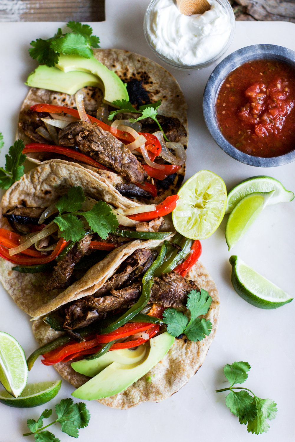 Easy Sheet Pan Beef Fajitas: My Diary of Us