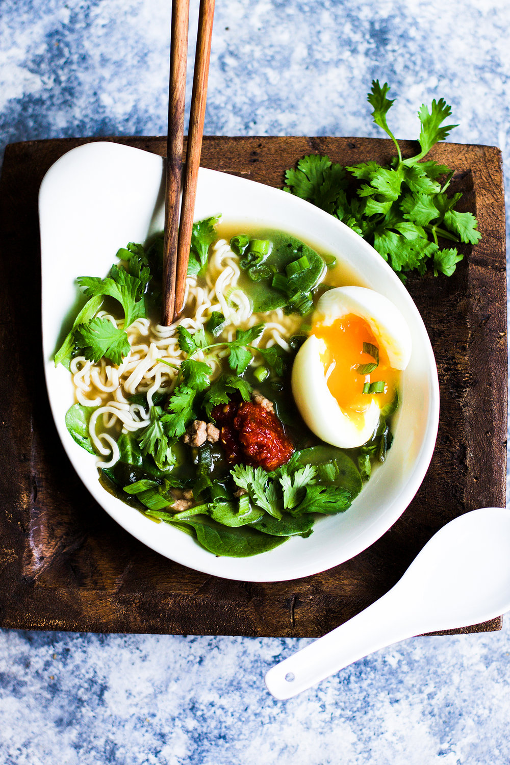 Simple Pork and Spinach Miso Ramen: My Diary of Us